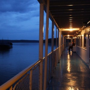Вечер на палубе