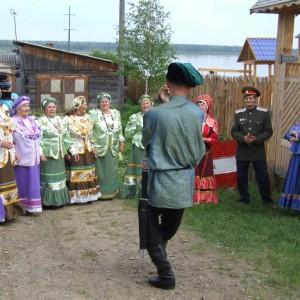 Народные гуляния в с.Усть-Кемь