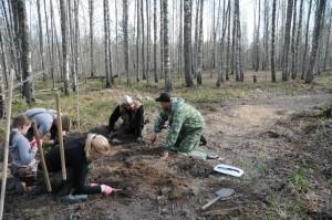 Кроме вологжан в экспедиции принимали участие поисковики из Екатеринбурга, Башкирии, Удмуртии, Санкт-Петербурга и Ленинградской области.