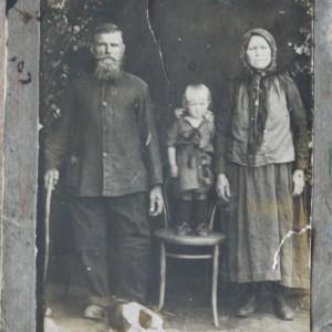 Крестьянская семья. Фото предоставлено Яковом Кареповым