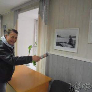 Анатолий Белоногов на собственной фотовыставке
