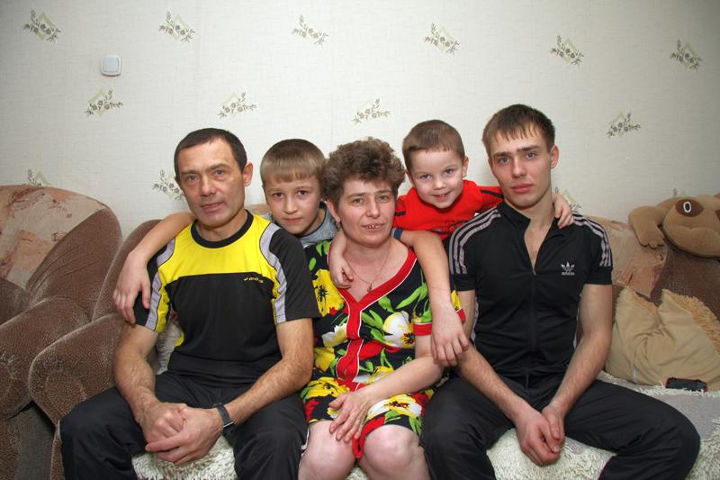 Семья Черных. Фото Александра Васильева