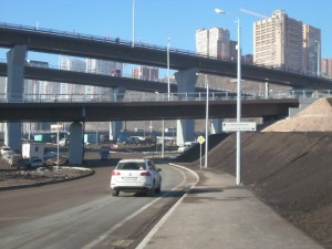 Въезд на 4-й мост