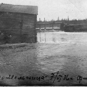 Водяная мельница. Фото Петра Черных. Фото из архива А.А. Рудко