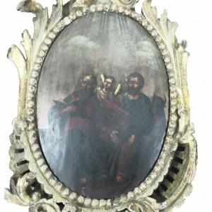 Эта икона евангелиста Матфея и евангелиста Луки предположительно из царских врат Троицкой церкви