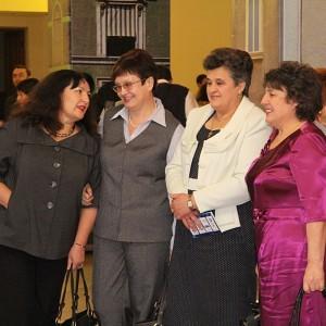 В фойе можно было встретить весь цвет красноярской журналистики