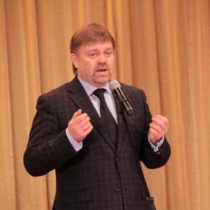 Председатель Правления Союза журналистов Красноярского края Василий Нелюбин был очень убедителен..
