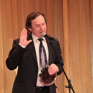 Член жюри, редактор информационного портала «Бизнес-сайт» Владимир Пантелеев показал себя блестящим оратором