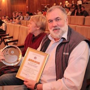 Собственный корреспондент международного агентства «Рейтер» Илья Наймушин доволен победой в краевом творческом конкурсе.