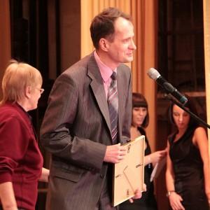 Андрей Курочкин - Почетная грамота в номинации Лучший репортер сказал просто: Спасибо!