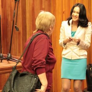 Александра Ли и Людмила Винская нашли, над чем посмеяться