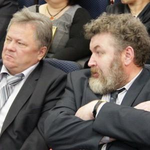 Дмитрий Голованов и Евгений Цветков