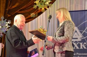 Александр Паращук получает Благодарность губернатора...