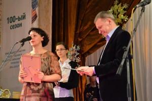 Лесосибирская городская телерадиокомпания получает приз за лучший выпуск теленовостей