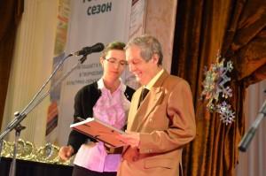 Владимир Василенко победил в номинации Лучшая авторская радиопрограмма