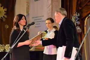 Получает награду радиостанция Серебряный дождь