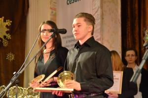 Ольга Беленова и Сергей Сеславин, телеканал ТВ Центр - победители в номинации Акция года