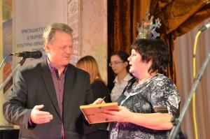 Антонина Ножкина, главный редактор Лучшей районной газеты  - Пригород, Березовка