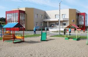 Детский сад в Знаменке, построоенный по федеральному проекту (фото Ирины Улановой)