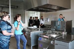 Экскурсия на кухню в детского сада