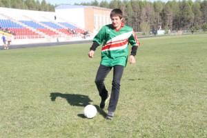 Футболист Даниил Хусаинов. Фото Марины Полежаевой.