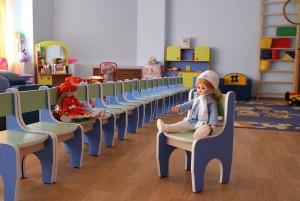 Группы в новом детском саду в Знаменке (фото Ирины Улановой)