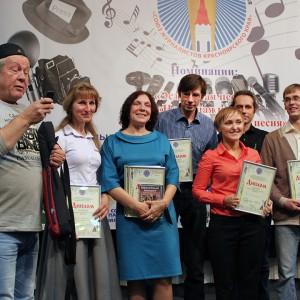 Лауреаты конкурса и член жюри Флорид Исламов