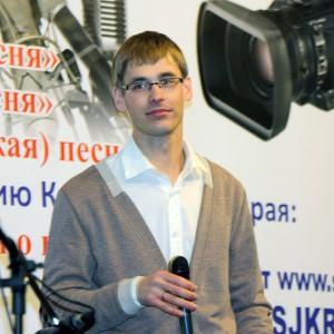 На сцене: Владимир Качимов, ГТРК Красноярск