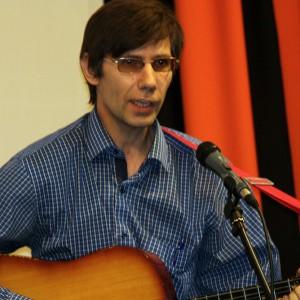 На сцене: Дмитрий Мелешин, ГТРК Красноярск
