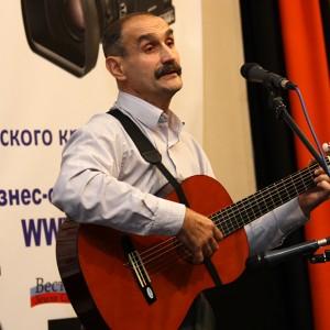 На сцене: Юрий Донгаузер, Енисейская правда