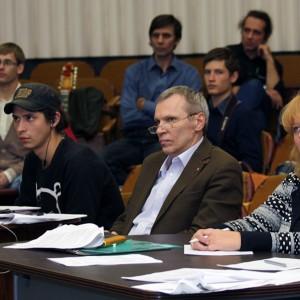 Член жюри Олег Тихомиров, редактор сайта СЖ