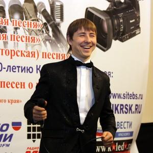 Восходящая звезда красноярской сцены, баритон  Андрей Домахин