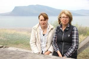 Анна Мухарева и Ольга Советова каждый год приезжают на Тепсей