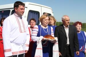 Ирбейский район встречает журналистов. Фото Марины Полежаевой