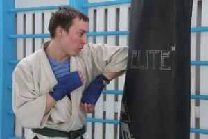 Рукопашный бой - Дмитрий Куимов. Фото Марины Полежаевой