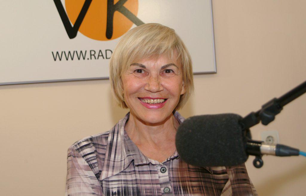 Софья Михайловна Григорьева в студии Радио VK