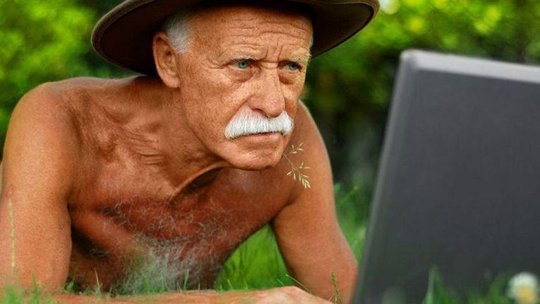 Ветераны с компьютерами