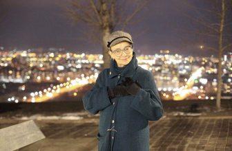Заместитель председателя Союза журналистов Тувы Надежда Антуфьева в гостях у красноярских журналистов