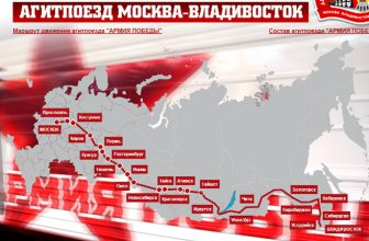 Агитпоезд Победы в Красноярске