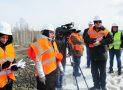 Пресс-тур красноярских журналистов по федеральным дорогам региона