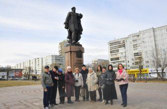 12 апреля ветераны журналистики побывали на экскурсии. Фоторепортаж Бориса Бармина