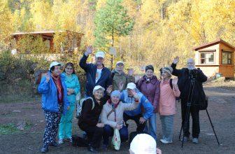 В День туризма — на Столбы!  Фоторепортаж с экскурсии красноярских ветеранов журналистики