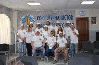 Сегодня группа красноярских журналистов под «знамёнами» нашего Союза отправилась в пресс-тур на фестиваль «Каратаг у Большой воды-2017»