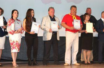 Награды красноярцам в Дагомысе