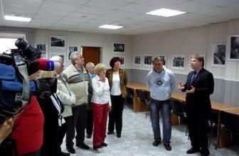 Открытие фотовыставки памяти Астафьева