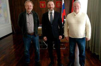 Красноярск посетил зам.председателя Союза журналистов России Алексей Вишневецкий