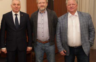 Встреча в ГУВД Красноярского края